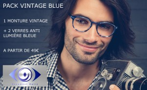 AFFICHE PACK VINTAGE BLUE BEAUMONT